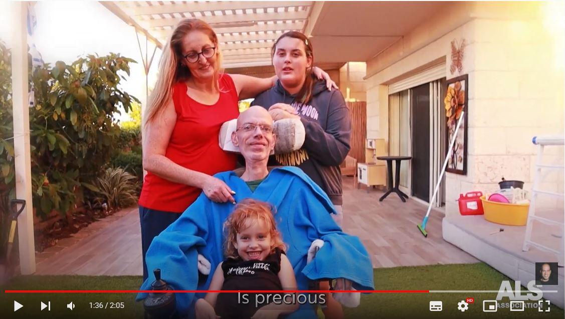 סרטון לעמותת ALSA